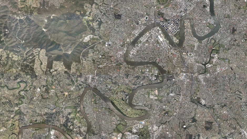 Brisbane (overview) (before flooding)