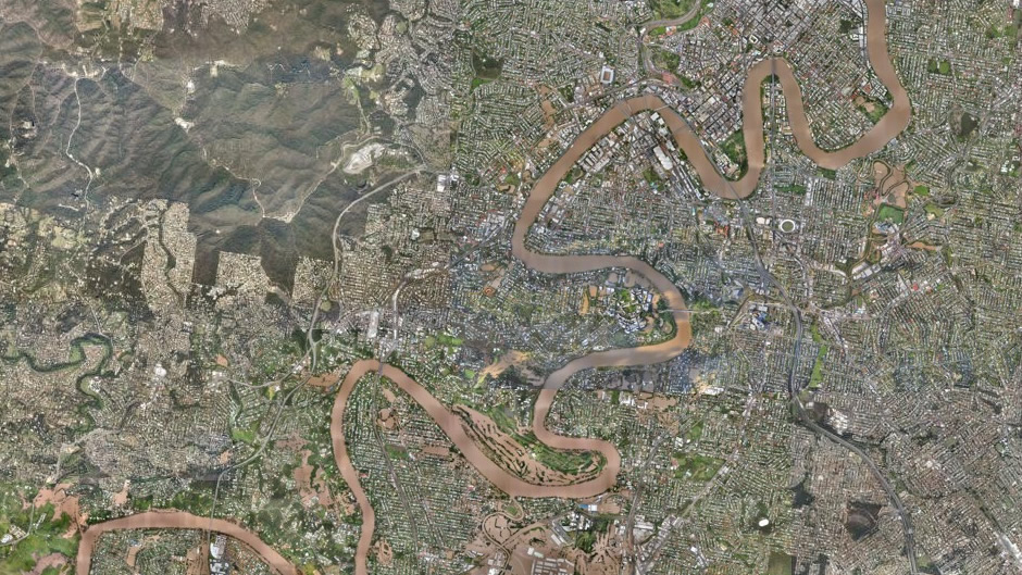 Brisbane (overview) (after flooding)
