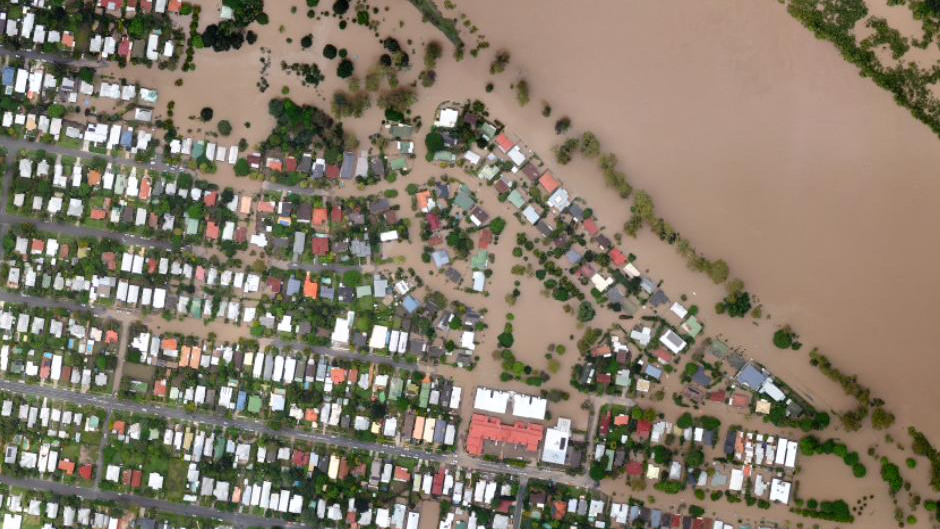 Graceville (after flooding)