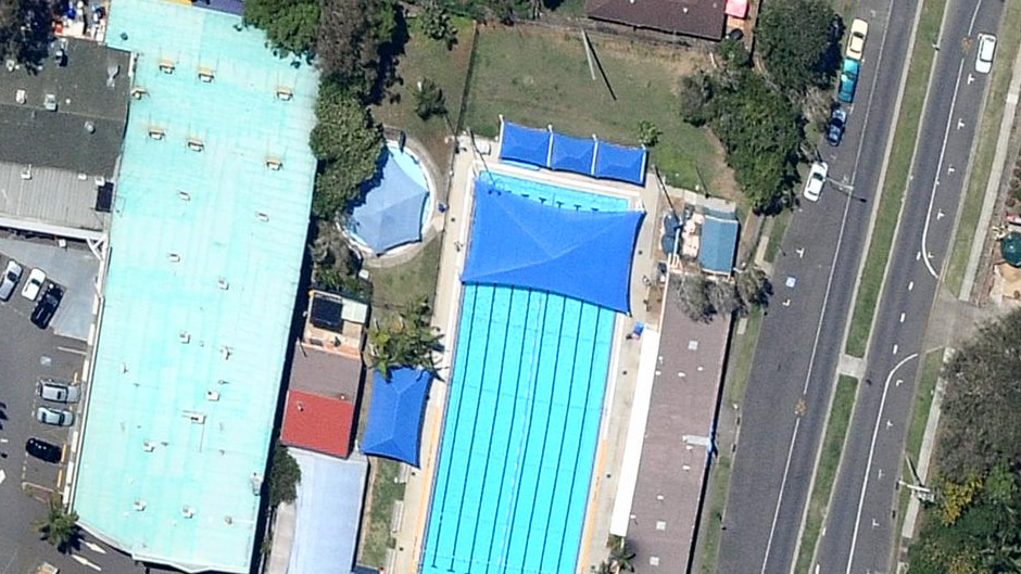 Jindalee Swimming Pool (before flooding)