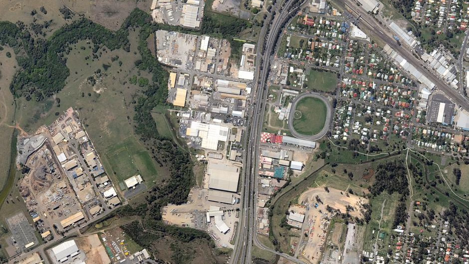 Rocklea (wide view) (before flooding)