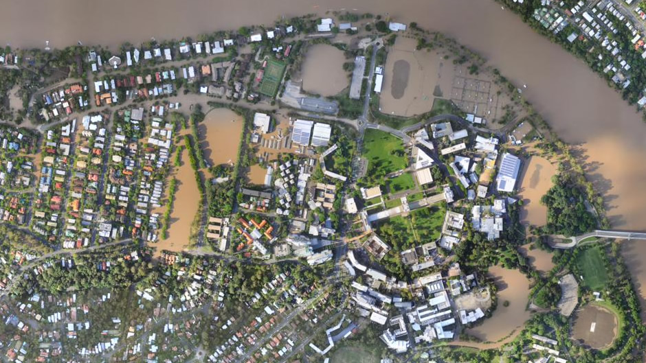 St Lucia (University of Queensland) (after flooding)
